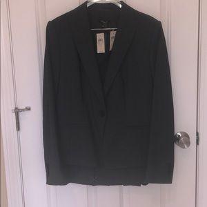 Ann Taylor 2 Piece suit w/ Blazer & Pleated Skirt